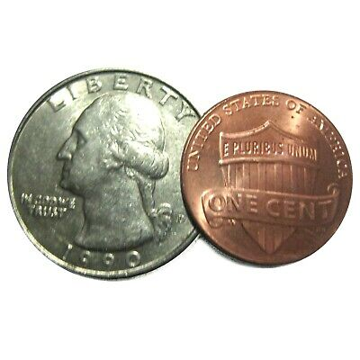 Scotch /& Soda Magic Trick using a Dime and Penny Made From Real Coins