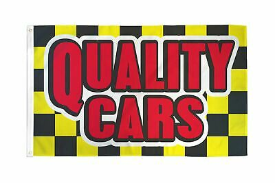 3X5 QUALITY USED CARS FLAG BANNER SIGN CHECKERED F717