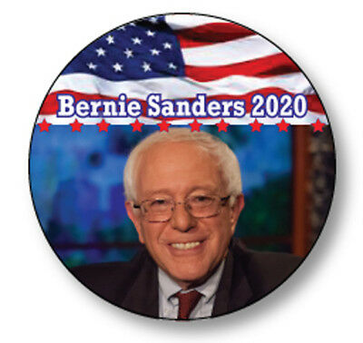 "Qty 12 Bernie Sanders For President Of The United States 2020 3"" Pin Back Button"