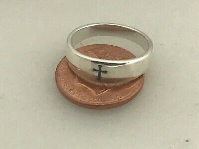 James Avery Sterling Silver Small Crosslet Cross Ring Size 6