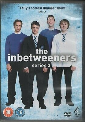 The Inbetweeners Series 3 Complete (DVD 2010) E4 Coming Of Age Situation Comedy