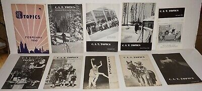 Lot Of 11 Commercial Investment Trust (C.I.T.) 1930-1941 Topics Magazines