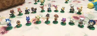 Real New  Animal Crossing New Leaf Girl and The Furniture Figure Stamp Set