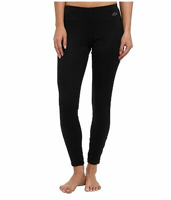 Hot Chillys Womens Leggings Black Size XL Misture-Wicking Stretch $45 490