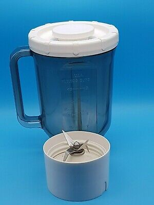 Vintage Kenwood Chef A989 Acrylic Plastic Liquidiser For Mixer A901 Good