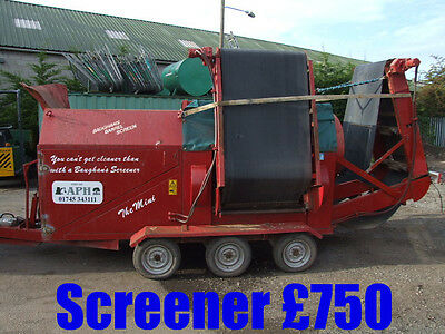 Soil Screener Available For Hire