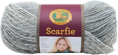 3Pk Lion Brand 826-208 Scarfie Yarn-Oxford//Claret