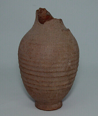 Ancient Greek Hellenistic Terracotta Amphora or Vase