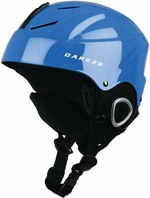 Dare2B Scudo Kids Ski Helmet Blue Junior Boys Girls Size 48-53cm Skiing Cycling