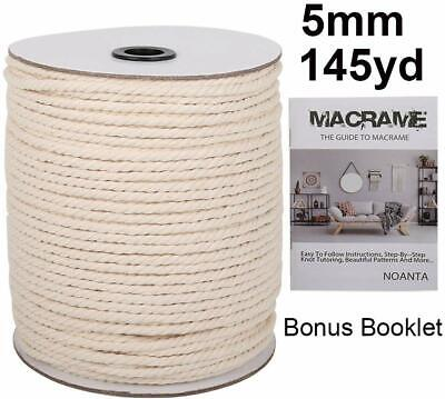 145 Yards of Macrame Cord 5mm
