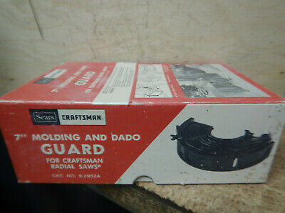 "Older Craftsman 7"" Dado Molding Moulding Cutter Guard For Radial Arm Saws"