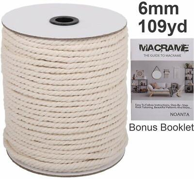 109 Yards of Macrame Cord 6mm
