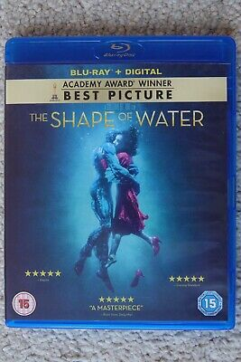 """""""THE SHAPE OF WATER"""", Blu-ray, Excellent condition"""