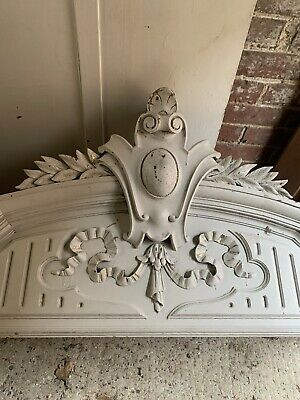 Antique French Armoire Topper