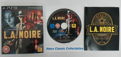 L.A. Noire for Sony PS3 - PlayStation 3  #2904