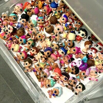Random Lot 20 LOL Surprise Doll Lil Sisters Boi Doll Color Change Xmas Gift Toy