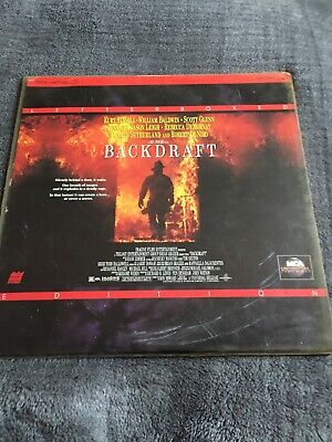 Laserdisc Backdraft 2 Disc Version