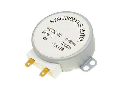 Microwave Oven Motor for Gorenje GMO24DCS Turntable Motor - 49TYZ-A2