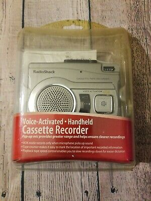 Radio Shack Voice Activated Cassette Recorder 14 -1129 NEW