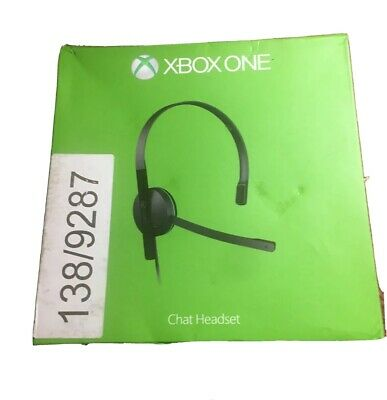 Genuine Official Microsoft XBOX ONE Chat Headset -  Model: 1564