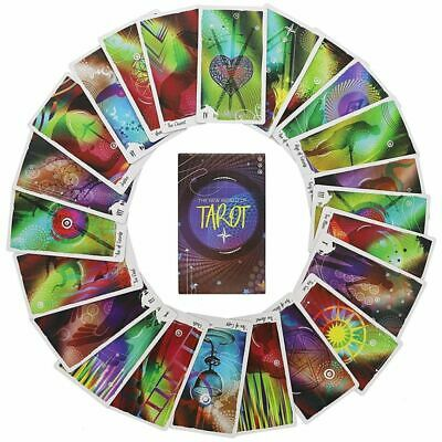 78-Card Tarot Cards Deck and Book Set for beginners with Guidebook for Party