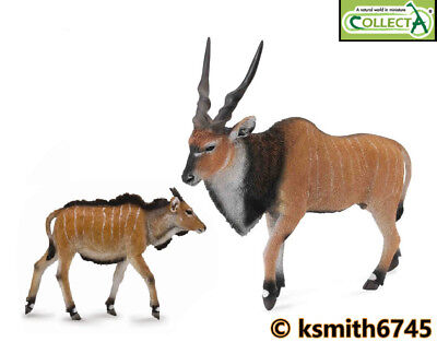CollectA SAOLA solid plastic toy wild zoo African animal antelope NEW