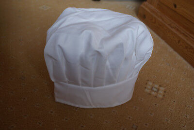 KIDS POLYCOTTON CHEFS TALL HAT * BRAND NEW * PROFESSIONAL STYLE * 100% Brand New