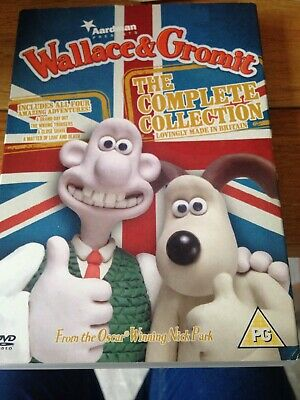 Wallace & Gromit - The Complete Collection [DVD], Good DVD, Peter Sallis, Nick P
