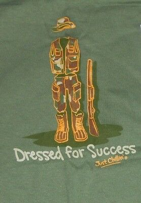 Gildan Green TShirt  Dressed For Success  Hunter  Size XLarge   New with Tag