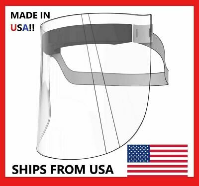NEW! 10x Face Shield Medical Eye Safety PPE Clear Visor Pack 10 Pcs   FREE 🚚USA