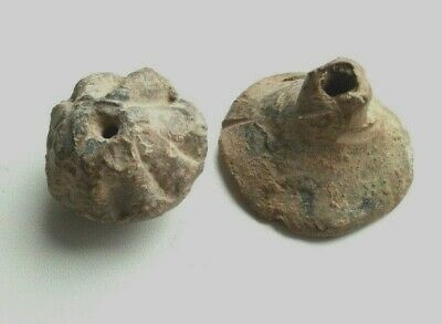 Ancient  Artifacts.  Lead Fishing Sinkers.