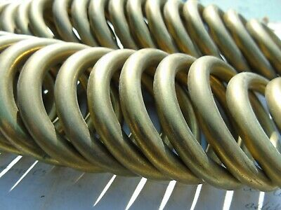 FRENCH VINTAGE CURTAIN RINGS TOLEWEAR BRASS 26pcs