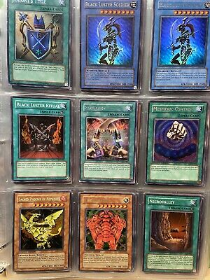 Collection Yugioh Cards Lot 50 Yu-Gi-Oh Cards Secret Holo Rare Free Shipping