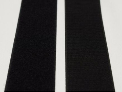 HOOK and LOOP Fastener Tape Sew On 25mm width Black Color Fastening AUS Stock!!