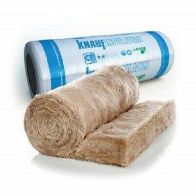 GLASS FIBRE LOFT INSULATION ROLL 200MM  MULTI LIST 5.93m2 roll  10 ROLLS £210