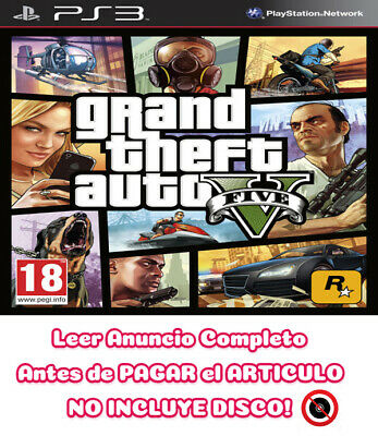 Grand Theft Auto V 5 GTA V 5 PS3 ⬇