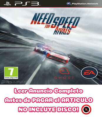 NFS Need for Speed Rivals PS3 ⬇