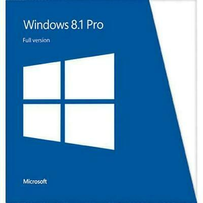 Windows 8.1 Pro RETAIL 32 64 Instant Multi language Originale License Key chiave