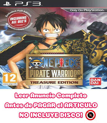 One Piece Pirate Warriors PS3 ⬇