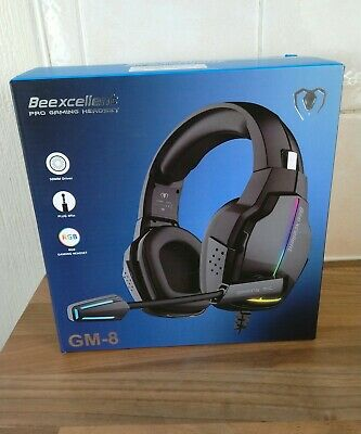 Beexcellent Gm-8 Pro Gaming Headset Surround Stereo Pc/ Ps4/ Xboxone /Nintendo .