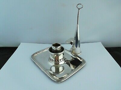 Lovely George Iii Silver Plated Chamber Stick - Matthew Boulton & Markland