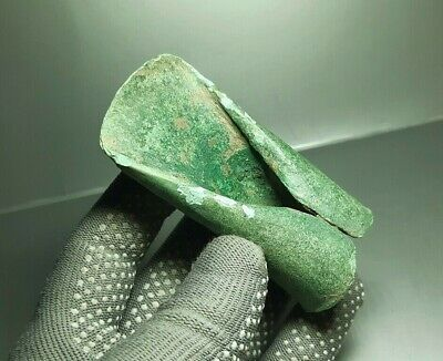 Rare Ancient CELTIC tool Tethered Ax Adze Axe EUROPEAN BRONZE AGE 1500-1000 BC