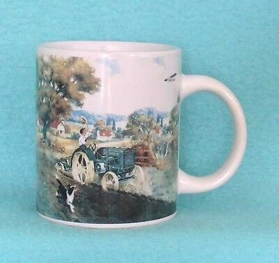 John Deere Coffee Mug with Tractor and Dog