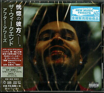 Weeknd-After Hours-Japan Cd F56