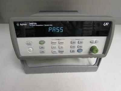 Agilent 34972A Data Acquisition Switch Unit w/ DMM