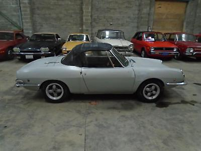 Fiat 850 Sport Spider Convertible(1969) Silver! Solid Driving Project! Just 29K!