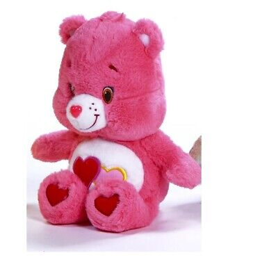 "New Official 12"" Care Bear Love-A-Lot Bear Soft Plush Toy"