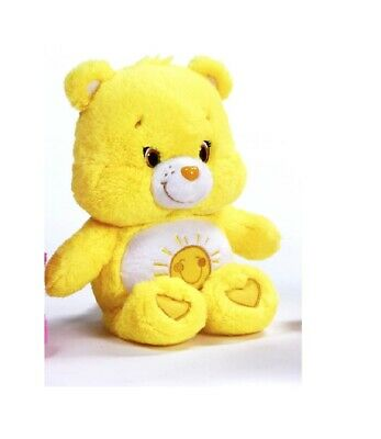 "New Official 12"" Care Bear Sunshine Bear Soft Plush Toy"
