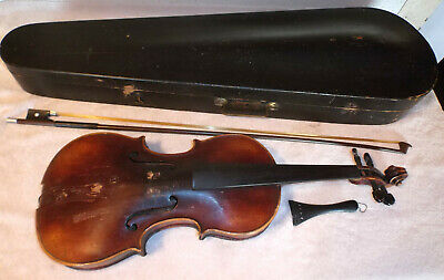 Antique Nicolo Hieron Amati Cremon Faceibat Anno 1617 Violin w GSB Case Bow