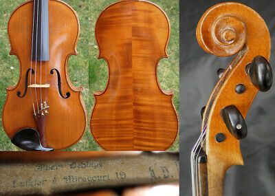 Fine  4/4 Antique French Violin: Albert Deblaye Mirecourt 19th 小提琴 ヴァイオリン скрипк